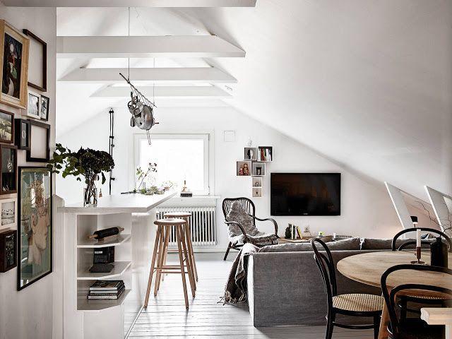Attic Living Room best 25+ attic apartment ideas on pinterest | industrial apartment