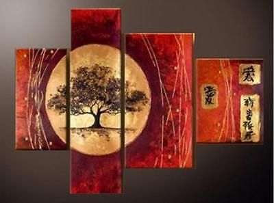 Hand Art Home Decor Oil painting Modern Wall Decor Chinese landscape paintings