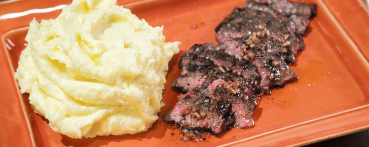 This delicious combination of juicy steak & black truffle with mashed potatoes will leave your whole family more than impressed!