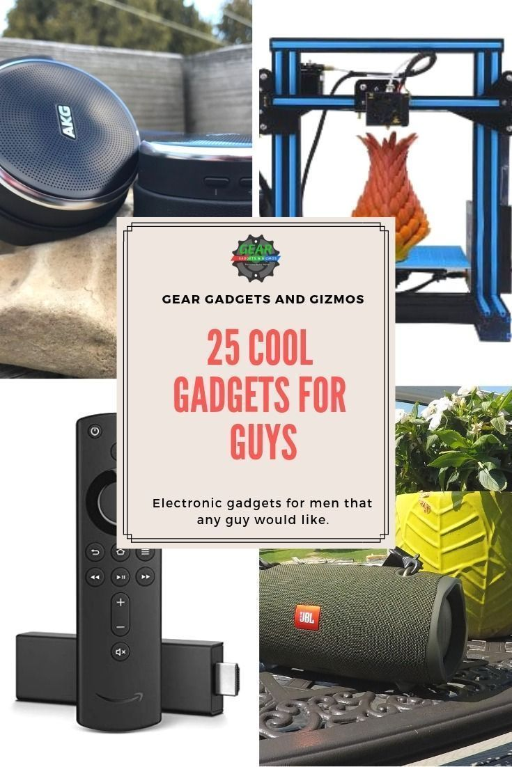 New technology 25 Cool Gadgets For Guys Gear Gadgets and