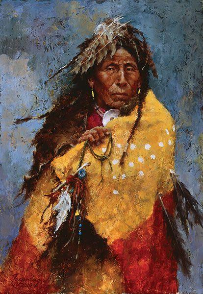 Howard Terpning | Howard Terpning - The Power of the Medicine Robe