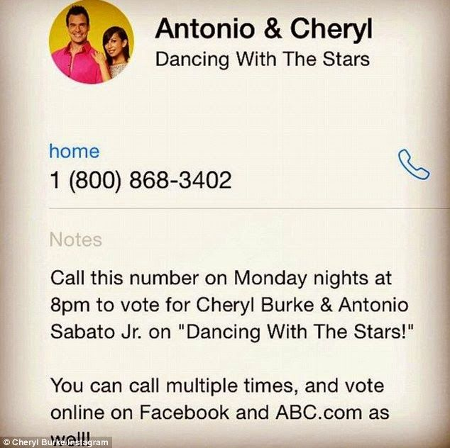 Cheryl Burke reveals this season of Dancing With The Stars. Read more: http://dd-idham.blogspot.com/2014/09/cheryl-burke-reveals-this-season-of.html