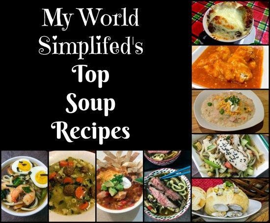 Top Soup Recipes The weather is freezing outside, even for us down here in Florida. I know what your thinking boohoo its Florida how cold is it really. Well when it is below 30 degrees fahrenheit a…