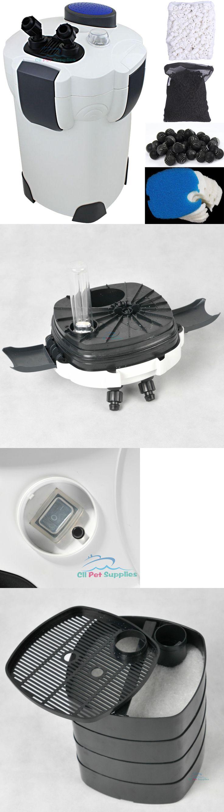 Filters 46310: Aquarium Canister Filter 9W Uv Sterilizer 525 Gph Fresh/Salt 175Gal Free Media -> BUY IT NOW ONLY: $61.45 on eBay!