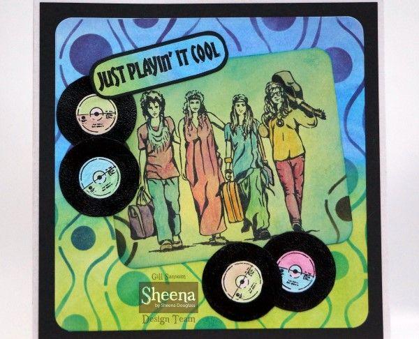 Groovin' 60s - Sheena Douglass - Gallery #design layout ideas #music