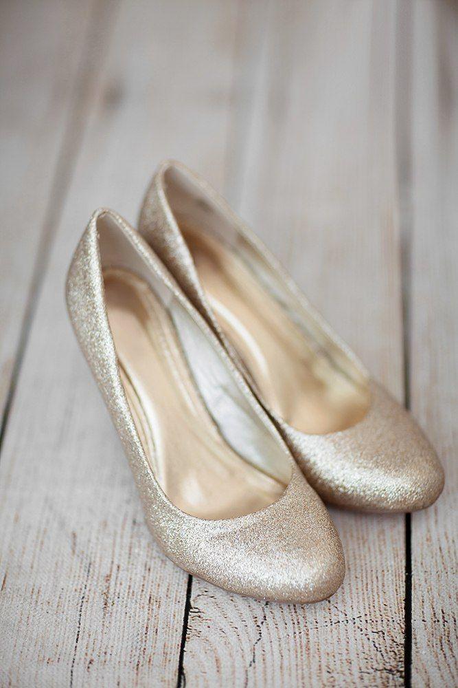 золотые туфли для невесты