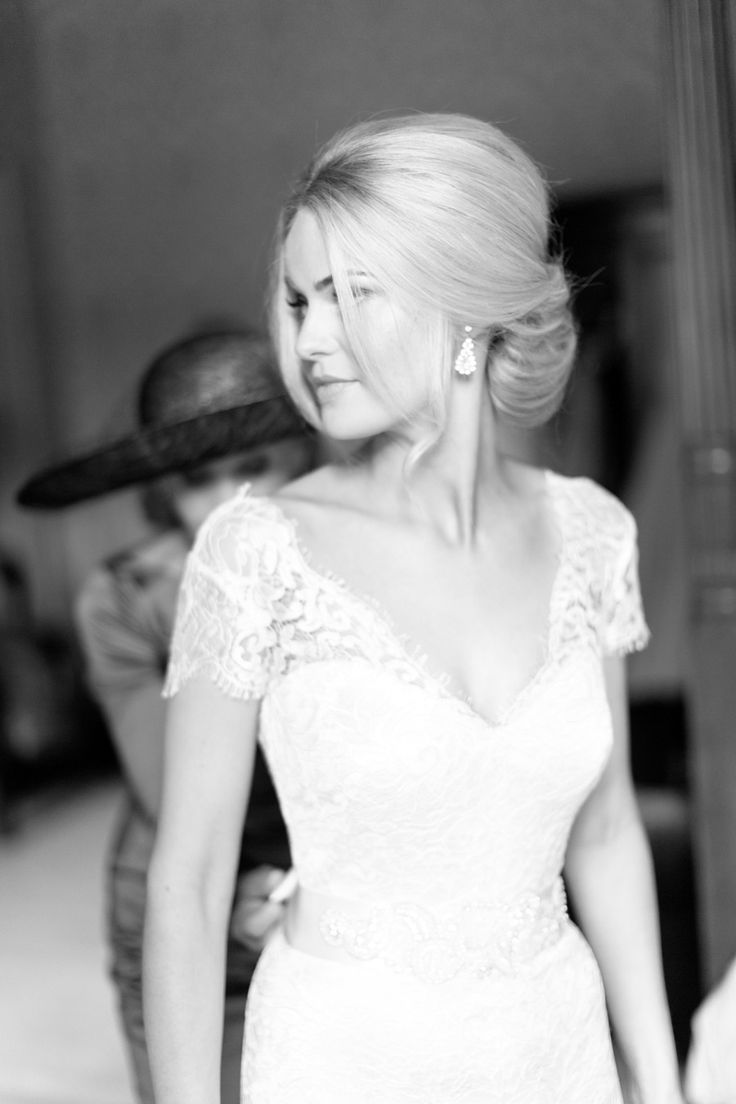 626 best Bridal Hair images on Pinterest | Bridal hairstyles, Hairdo ...