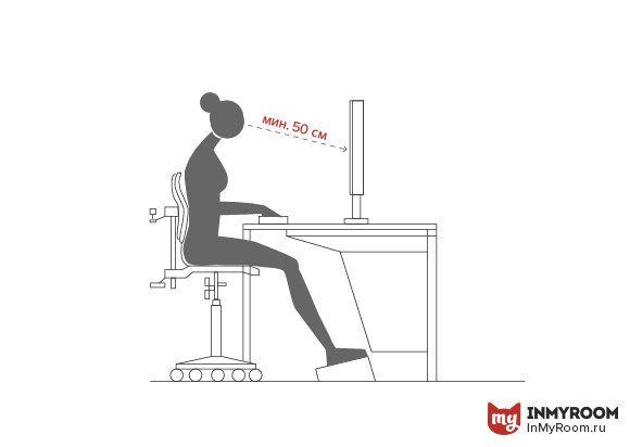 Чтобы обустроить домашний офис недостаточно поставить компьютерный стол и кресло. Рассказываем, как рассчитать оптимальную высоту столешницы, куда повесить полку и почему удобнее работать стоя