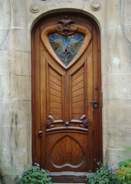 Art Nouveau Door ~Strasbourg, France