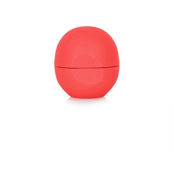 eos Summer Fruit Eos Lip Balm ($9.07) ❤ liked on Polyvore featuring beauty products, skincare, lip care, lip treatments, pink and eos