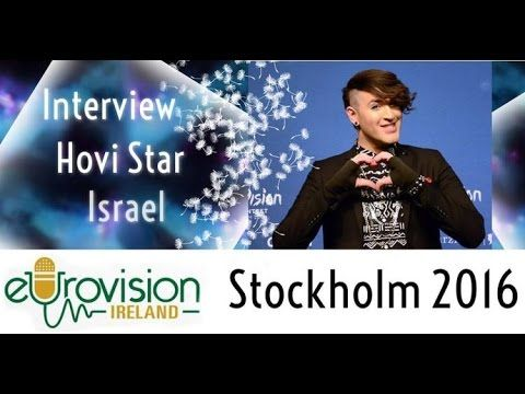 Eurovision Ireland meets Hovi Star from Israel at Eurovision 2016