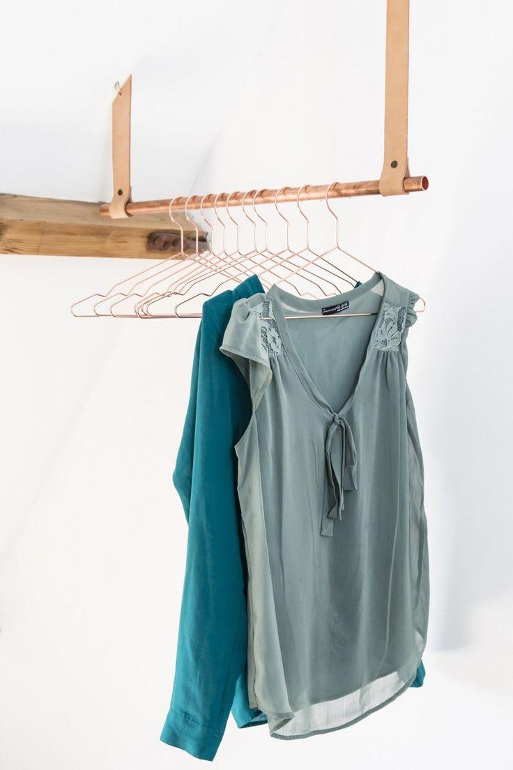 DIY clothes rail | Make-over door Kim van Rossenberg | Aflevering 7 van vtwonen doe-het-zelf