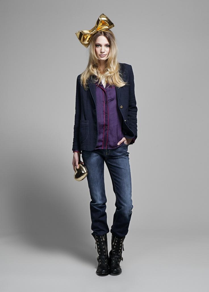 Love Moschino Fall/Winter 2012-2013 #Love  #Moschino  #Fall  #Winter  #jacket #trousers #shirtMoschino Fallwinter, Fallwinter 20122013, Fw 1213, 1213 Lookbook