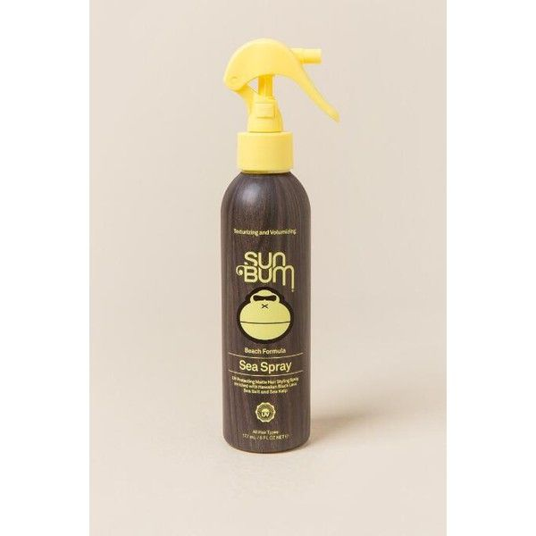 Sun Bum - Volumizing Hair Sea Spray 6 Oz ($15) ❤ liked on Polyvore featuring beauty products, haircare and styling products