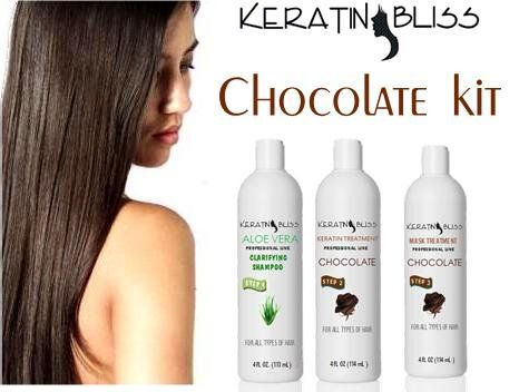 Brazilian Keratin Treatment By KB Cosmetics 32 Oz Chocolate Doit Yourself Kit * You can find more details by visiting the affiliate link Amazon.com.