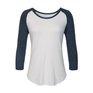 Ruth Baseball Tee White Blue, $12.50, now featured on Fab.