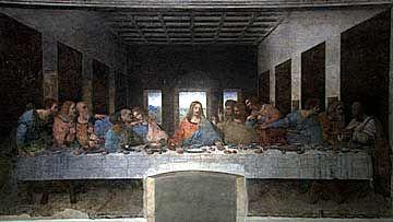 サンタ・マリア・デッレ・グラツィエ修道院とレオナルド・ダ・ヴィンチ作「最後の晩餐」