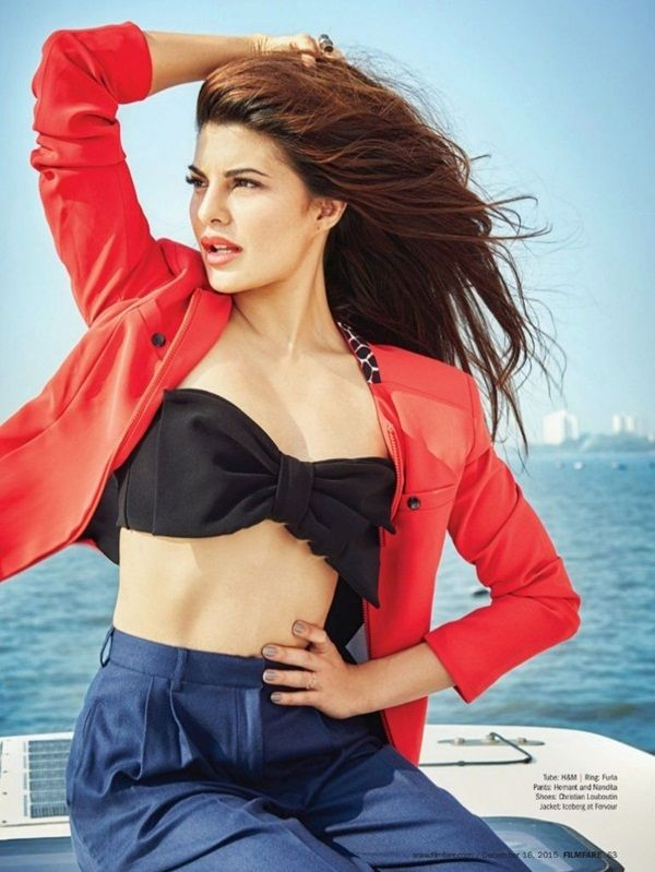 Jacqueline Fernandez Photoshoot For Filmfare Magazine December 2015
