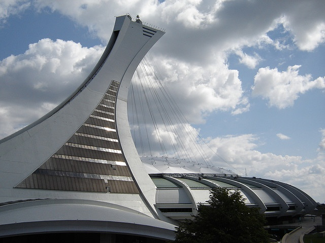 Olimpic Park_Montreal_modern buildings by Brazilian Traveller, via Flickr