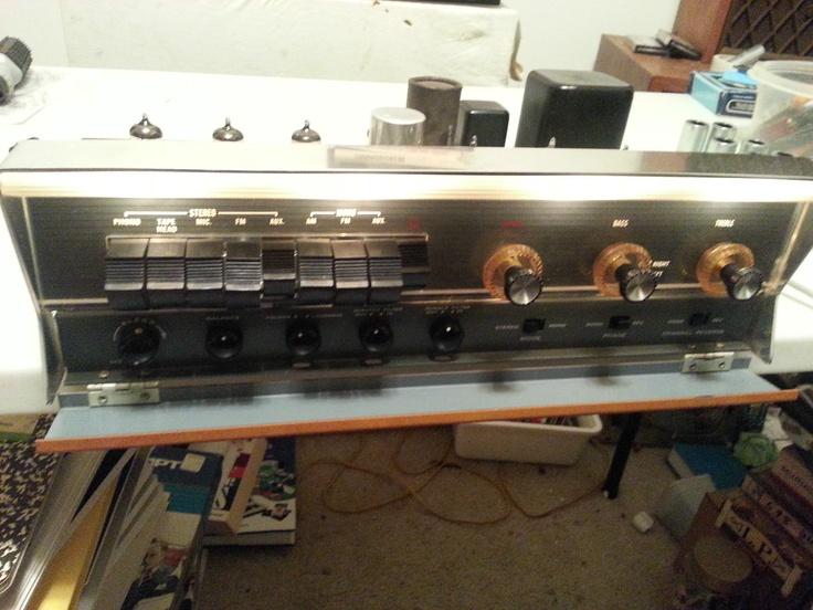 Heathkit Daystrom AA11 preamp vacuum tube stereo Vacuum