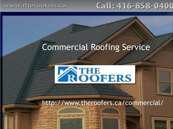 Commercial roofing Toronto offer commercial roof services like roof inspection services, leak repair, installation and roof replacement all over greater Toronto area.