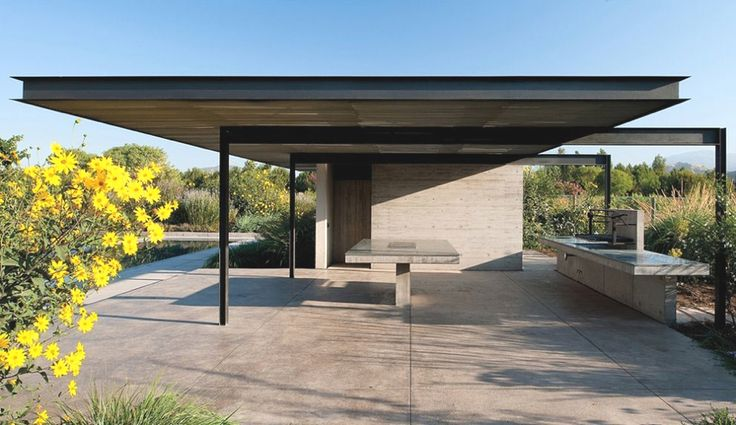 Kubler House with dramatic views of the Andes, Chile | Adelto