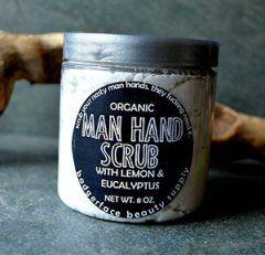 Gift Idea: Organic Man Hand Scrub