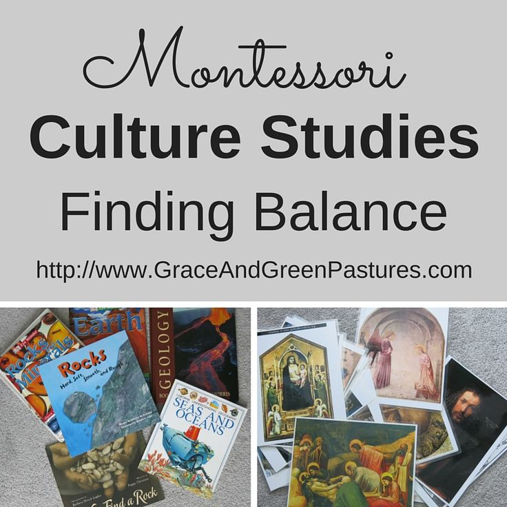 Grace and Green Pastures: Culture Studies: Finding Balance... and Topics!