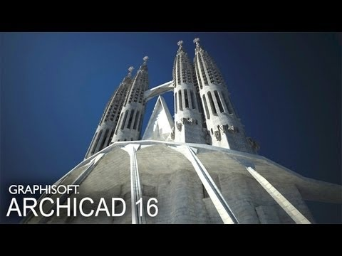 Classics modeled in ArchiCAD - The Sagrada Familia - Passion Towers [extended cut]
