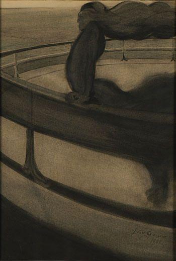 Léon Spilliaert, La rapace 1902