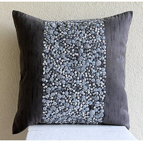 Handmade Charcoal Grey Cushion Covers, Contemporary Flora... https://www.amazon.co.uk/dp/B00VDDRMH2/ref=cm_sw_r_pi_dp_x_A11Gyb52EYEX0