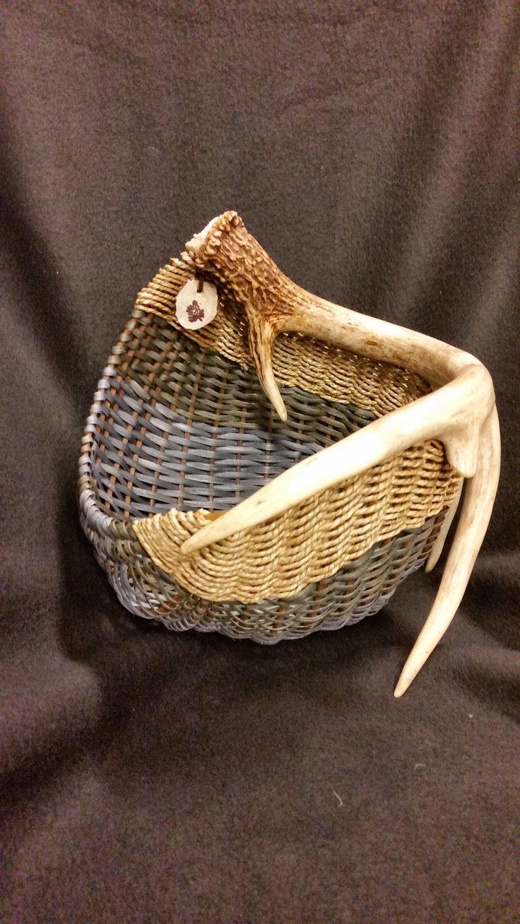 362 best Antler Baskets images on Pinterest   Antlers, Deer antlers ...