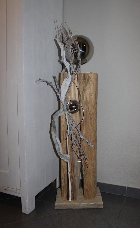 Las 25 mejores ideas sobre edelstahlkugeln en pinterest for Holz dekoration modern