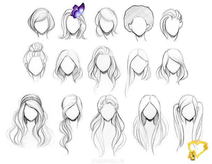 15 Amazing Hair Drawing Ideas Inspiration Brighter Craft 30 Amazing Hair Drawing Ideas Inspiration Br Need Some In 2020 How To Draw Hair Hair Sketch Anime Hair