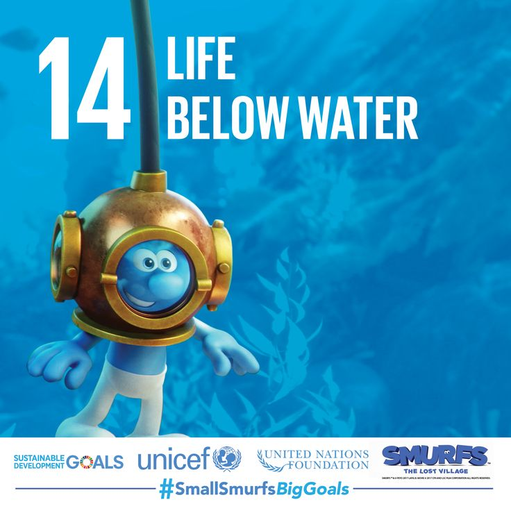 The world's oceans contain ecosystems that make the earth habitable for all living things. #TeamSmurfs is working hard to protect them, are you? Do your part by visiting SmallSmurfsBigGoals.com and taking action.   #SmallSmurfsBigGoals