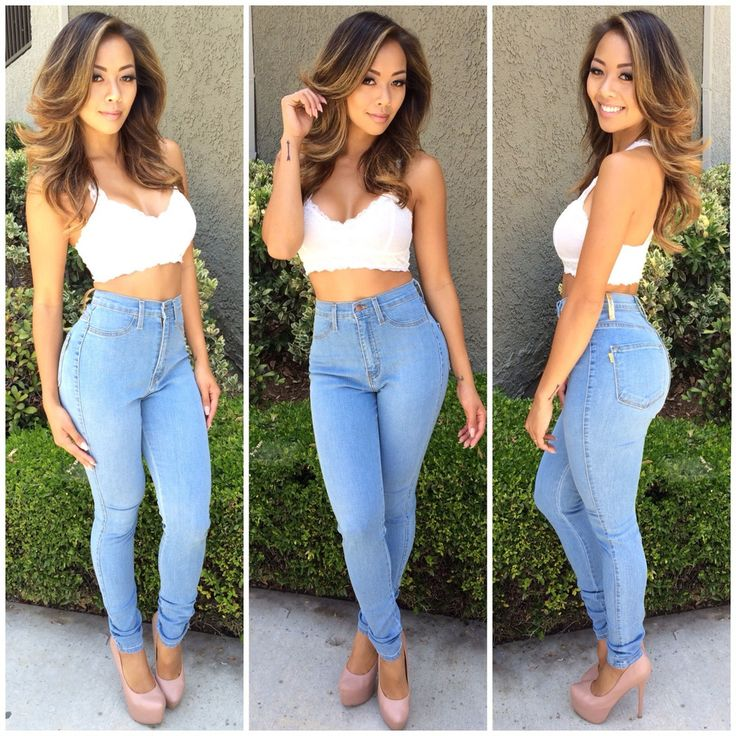 224 best High waisted jeans outfits images on Pinterest | Jean ...