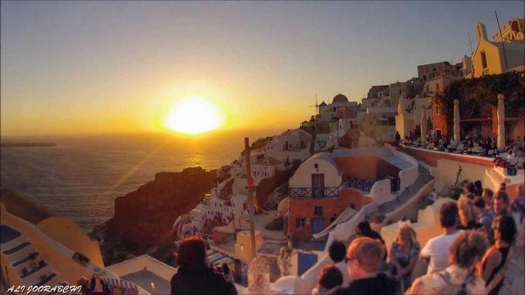 Greek Island Sun Set Timelapse