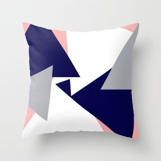 Puzzle Throw Pillow by Bravely Optimistic | Society6