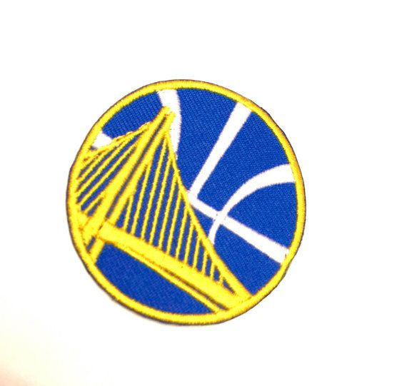 NBA Golden State Warriors Logo Patch Pro by RedefiningVintageluv