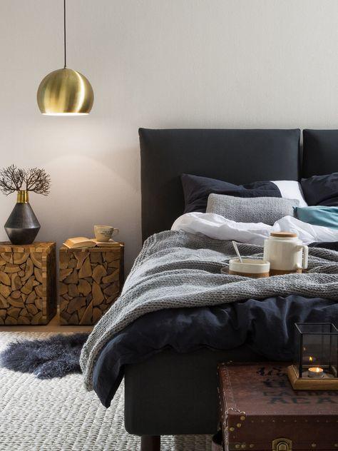 Die besten 25+ Erholsamen schlafzimmer farben Ideen auf Pinterest - wandfarben trends schlafzimmer