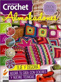 Crochet ALMOHADONES – Edición Especial 2014 sino la conseguis en kioscos pedila en www.eviaediciones.com en la categoria #crochet