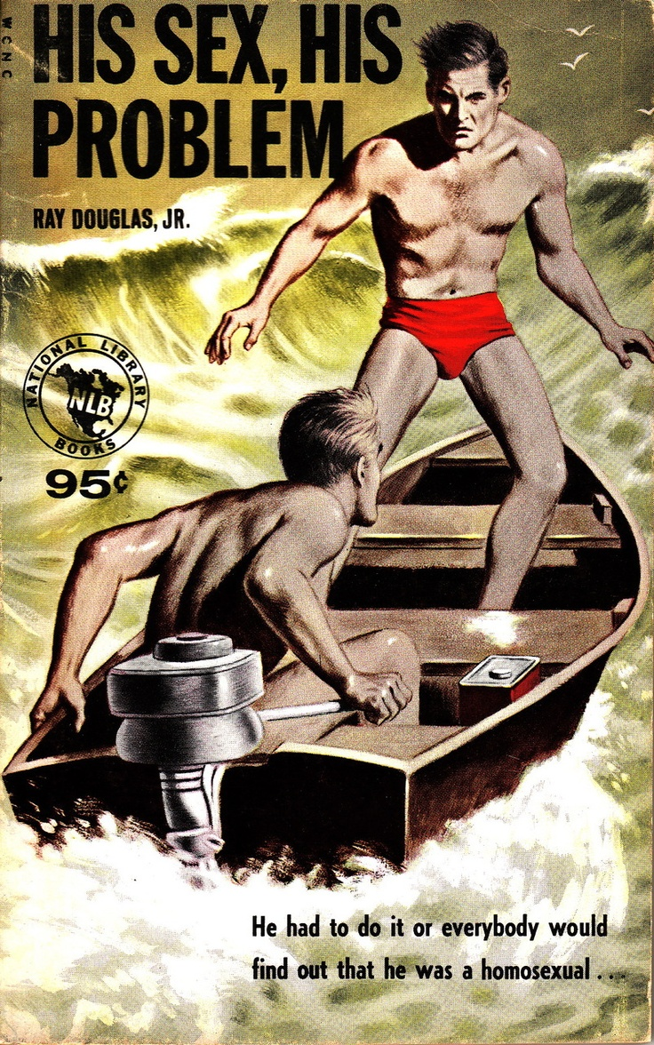 from Cash vintage gay book magazine covers