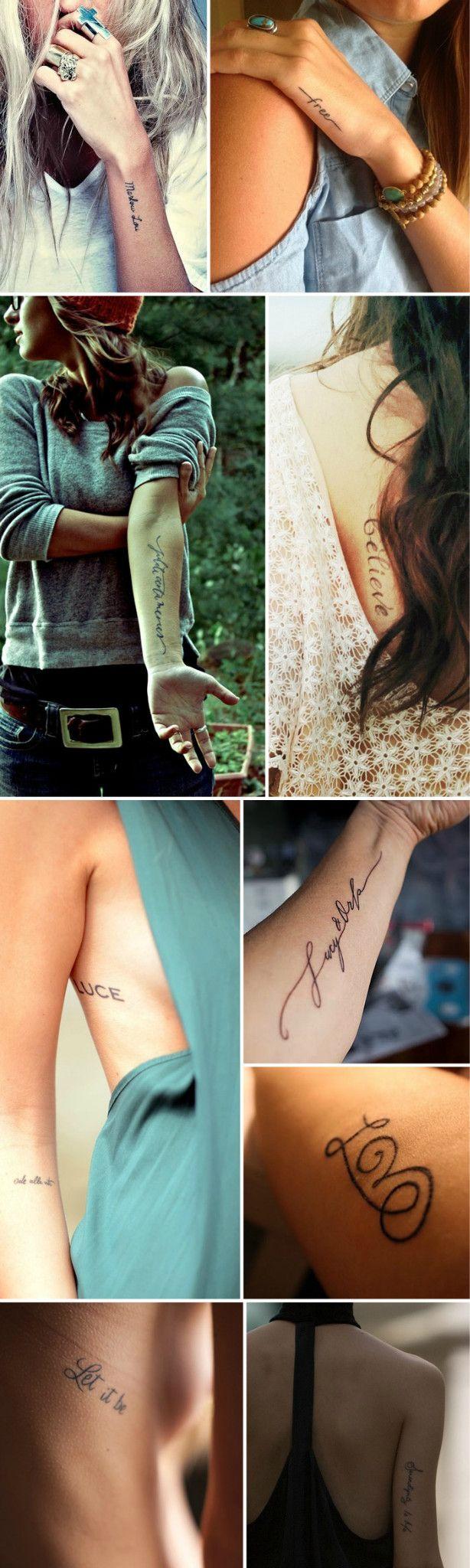 Já tem a fonte da sua próxima tatuagem?