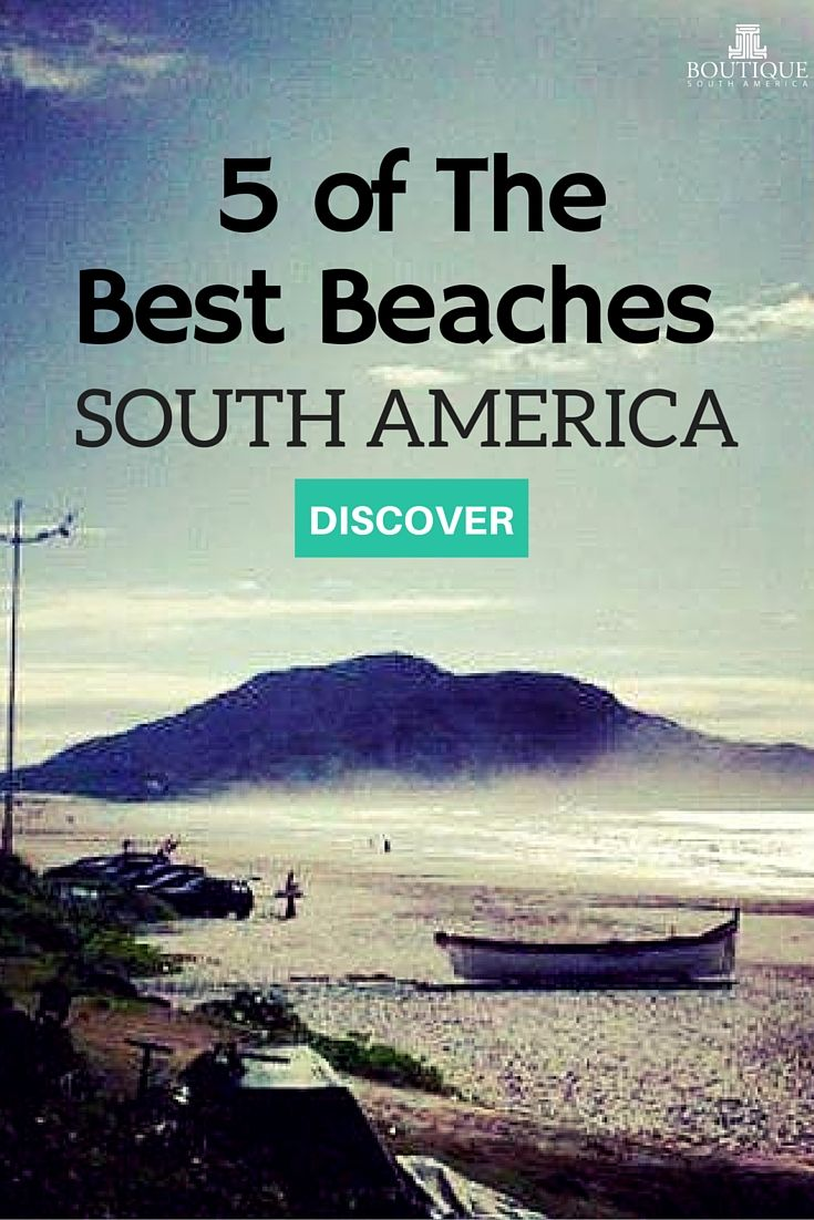 Discover 5 of The Best Beaches in South America here: http://www.boutiquesouthamerica.com.au/blog/5-best-beaches-in-south-america/