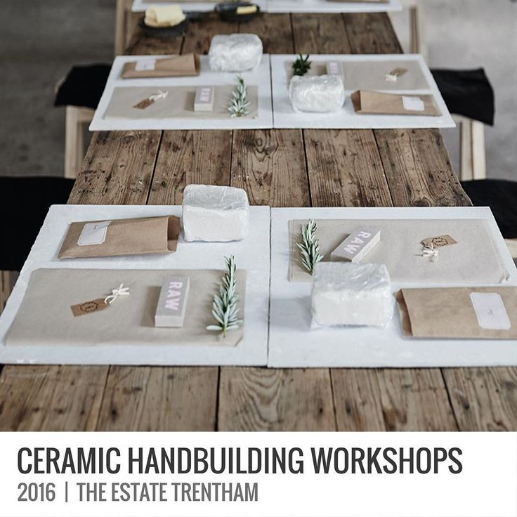 And there are more Ceramic Handbuilding Workshops for 2016 at The Estate Trentham too! Yay!  CERAMIC HANDBUILDING WORKSHOPS |  2016  During this workshop I will step you through some simple ceramic handbuilding techniques to create some great pieces to use in your own home.  The workshop will be held in the incredible barn at @theestatetrentham on the following dates: 22nd May 2016 | 21st August 2016 | 27th November 2016.  For more details and to book follow the link in my profile!  Hope to…