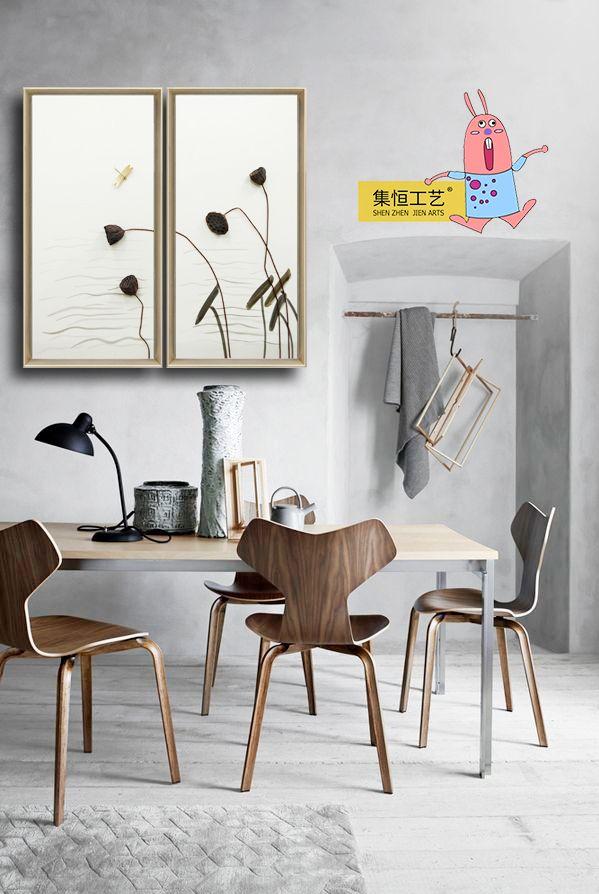 100 besten 餐厅实物画 Bilder auf Pinterest - wandgestaltung landhausstil wohnzimmer