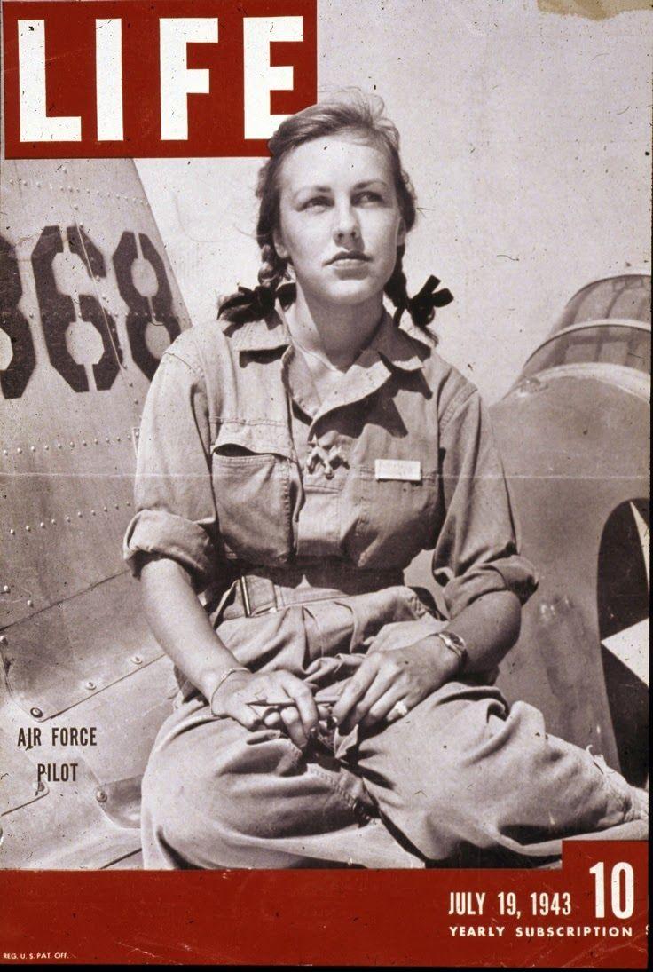 Vintage Girl: WASP: Zapomniana opowieść o kobietach pilotujących samoloty…