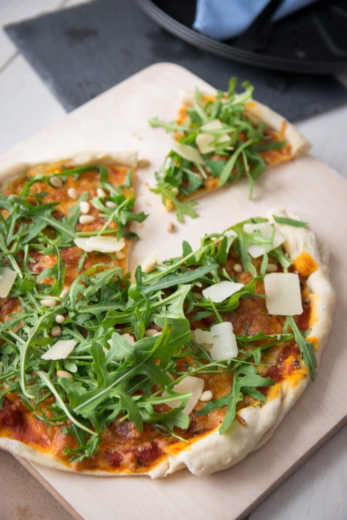 Diese Pizza ist zum Verlieben