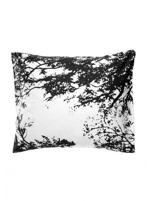 Tuuli pillowcase (white,black) |Décor, Bedroom, Pillowcases | Marimekko