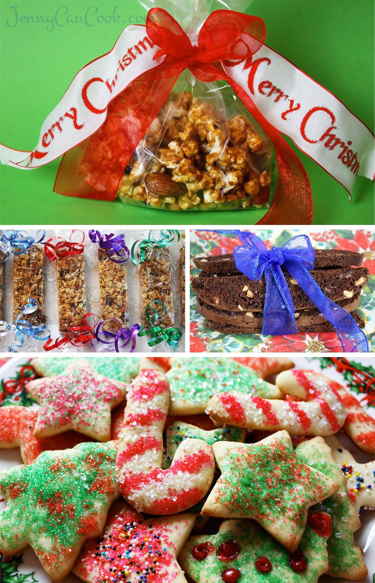 Homemade Food Gifts For Christmas Jenny Can Cook Homemade Food Gifts Food Gifts Christmas Food Gifts